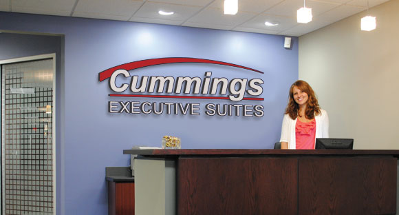 executive suites reception